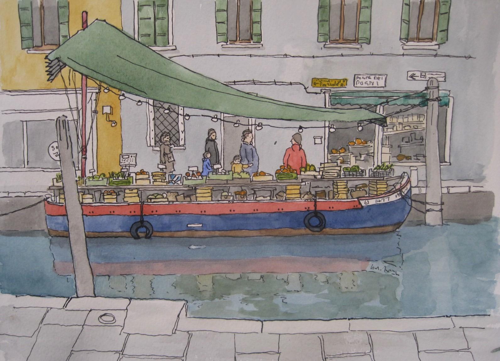 Sketch - Kirribilli Cafe